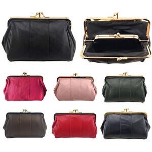 Genuine-Leather-Clutch-Wallet-Long-Purse-Women-039-s-Coin-Holder-Case-Handbag-Mini