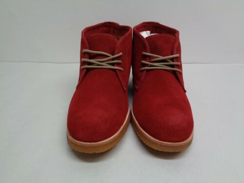 Johnston /& Murphy Size 7 M HAYDEN Dark Red Suede Ankle Boots New Womens Shoes