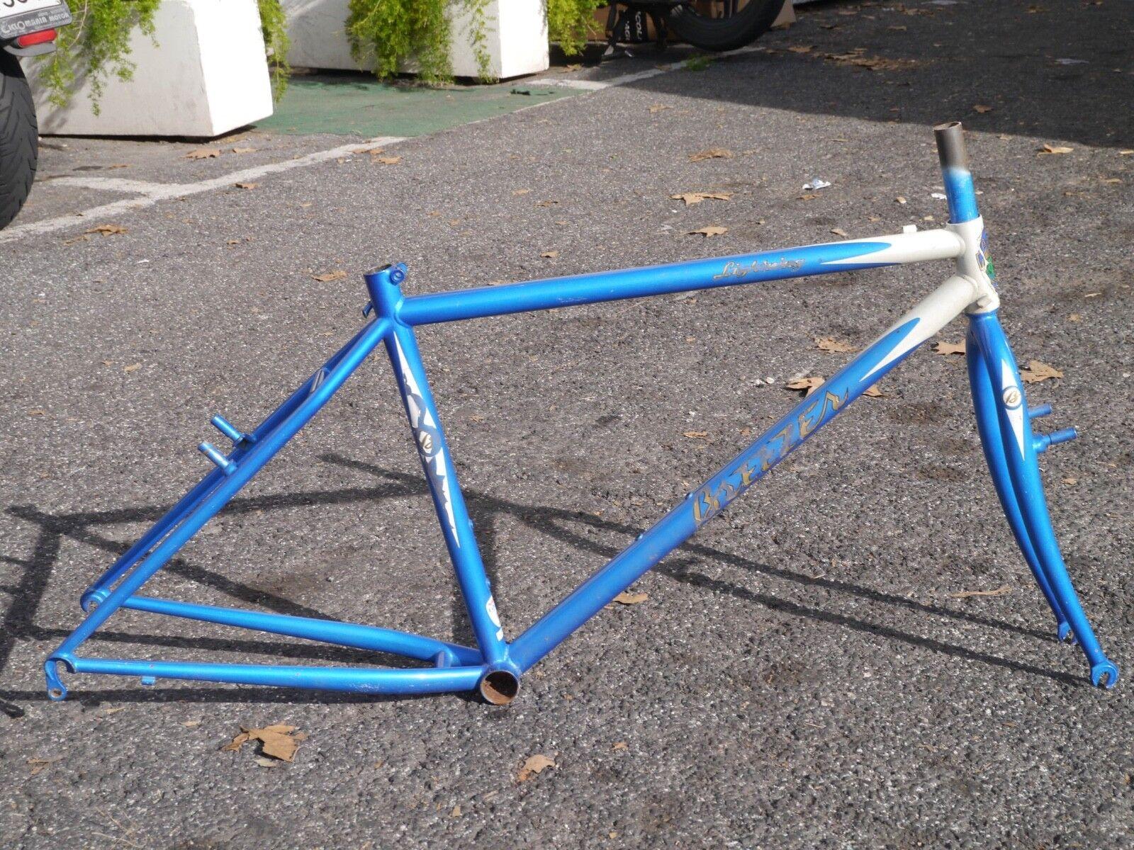 NOS Breezer Lighting vintage mountain bike frame, 17 , steel made, RETRO MTB