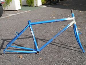 NOS-Breezer-Lighting-vintage-mountain-bike-frame-17-034-steel-made-RETRO-MTB