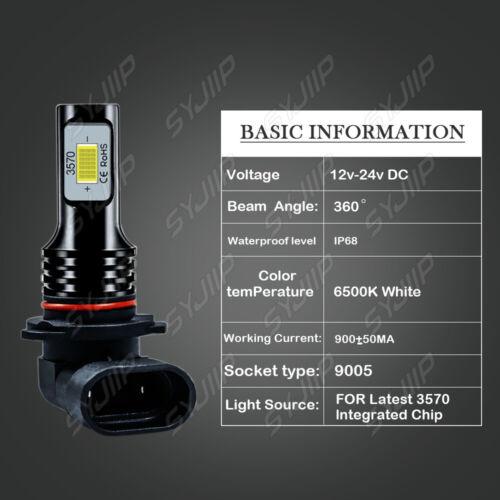 For Toyota CAMRY 2007-2013 2014 6000K LED Headlight+Fog Light 6x Bulbs Combo Kit