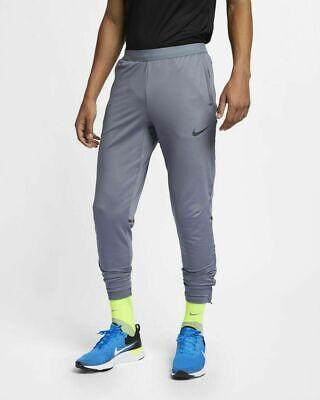 Nike Dri-Fit Stretch Flex Running Pants Black Straight Leg Training 717410 Med