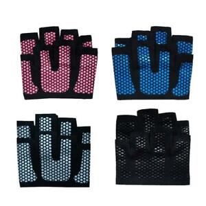 Men-039-s-Women-039-s-Fitness-Gloves-Breathable-Body-Building-Exe-Yoga-Crossfit-Gym-D4D7