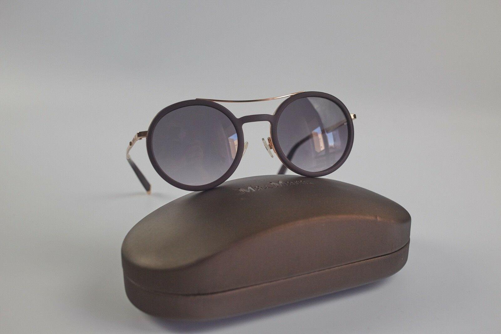 Max Mara Sonnenbrille MM OBLO V 28 28 28 Y1 49 a 21 Rund Schwarz   Gold NP 253,00    Verbraucher zuerst    Eine Große Vielfalt An Modelle 2019 Neue    Hohe Qualität  2a24e5