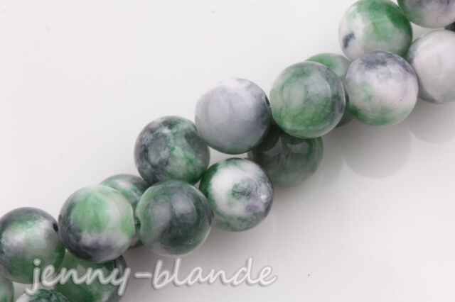 Wholesale Natural Gemstone Round Spacer Loose Beads Charm Finding Craft 6/8/10MM