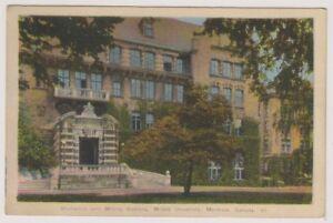 Canada-postcard-Mechanics-amp-Mining-Building-McGill-University-Montreal-A128