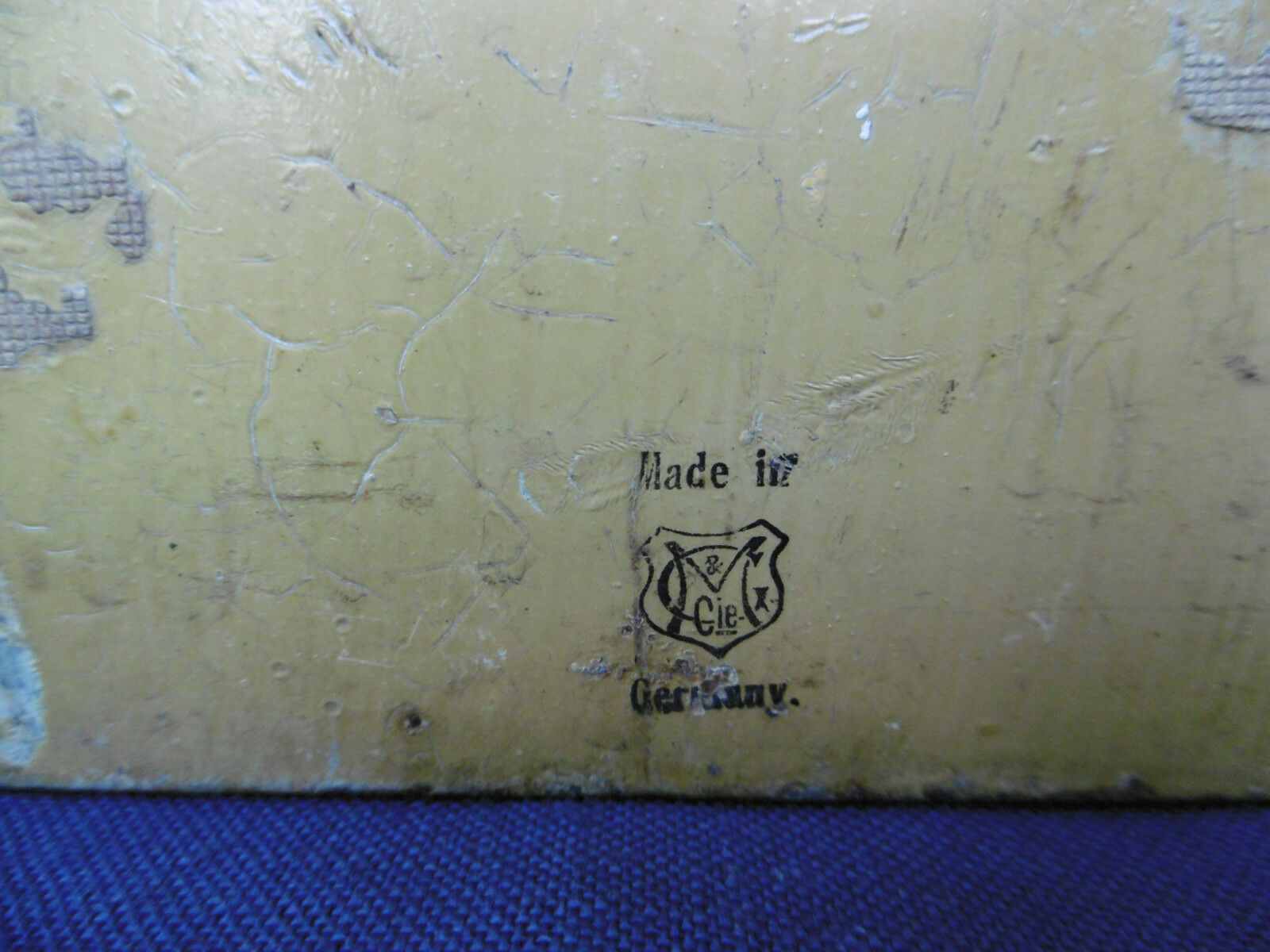 TRES RARE JOUET ANCIEN - LAVABO LAVABO LAVABO EN PORCELAINE MIROIR BIZEAUTE TOLE FAB ALLEMANDE fd17a5