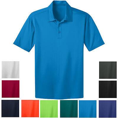 Winning Spirit Mens Staten Polo W// Fine pique fabric Quick Dry Moisture Wicking