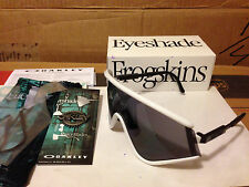 NEW OAKLEY Special Heritage Edition EYESHADE White / Grey Lens, OO9259-06
