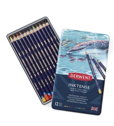 Tin of 12 Pencils DERWENT INKTENSE PENCILS