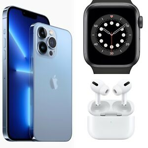 Apple iPhone 13 Pro Max - 1TB, Apple AirPods Pro, Apple Watch Series 7 bundle