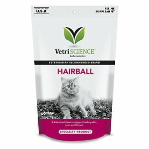 VetriScience-Hairball-Bite-Sized-Cat-Chews-60-count-Free-Shipping
