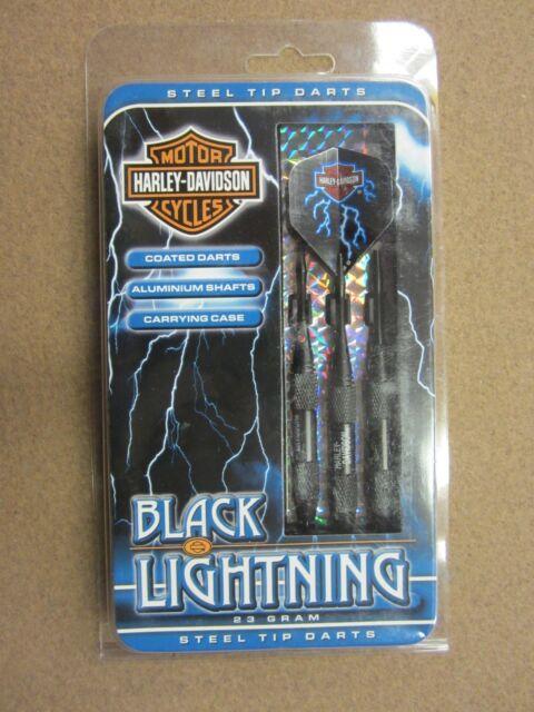 3 St/ück Harley-Davidson Black Lightning Steel-Tip Darts 23g