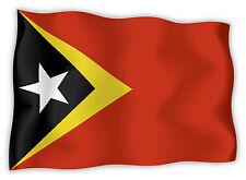 Timor Est East Timor Osttimor bandiera etichetta flag sticker 15cm x 11cm