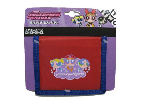 "Red//Blue BRAND NEW WITH TAGS Powerpuff Girls Bi-Fold Wallet 4.5/"" x 3.5/"""