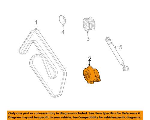 Mercedes MERCEDES-BENZ OEM S500-Serpentine Drive Fan Belt Tensioner 1122000970