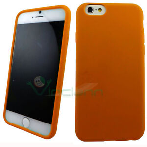 custodia iphone 6 arancio