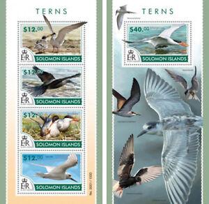 White Ibis Birds Vögel Animals Fauna Solomon Islands Mnh Stamp Set Animal Kingdom
