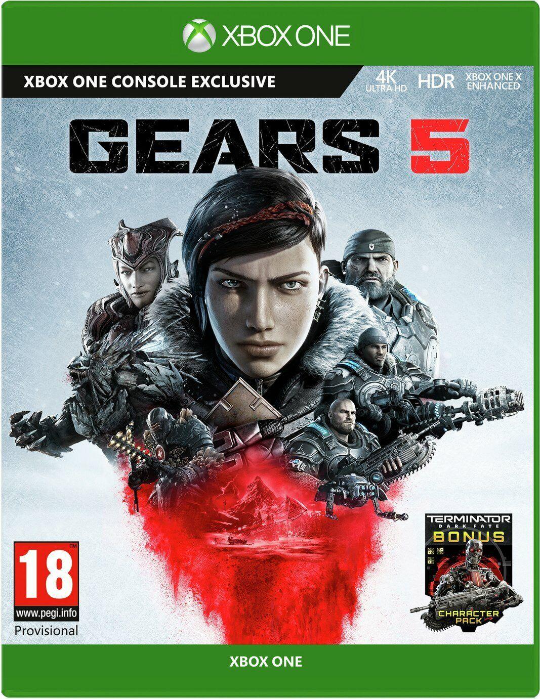 Gears 5 Xbox One Includes Terminator Dark Fate Bonus BRAND NEW & SEALED
