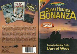 Goose-Hunting-Bonanza-Master-Guide-Darrel-Wise-3-Films-on-1-DVD-NEW