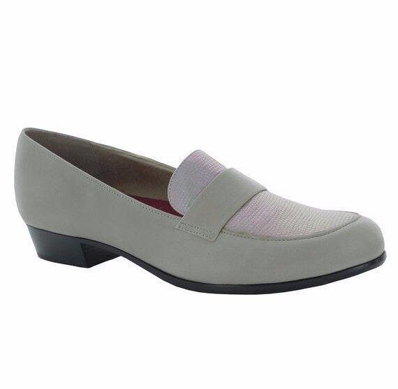 shopping online e negozio di moda MUNRO MUNRO MUNRO KIERA NATURAL PYTHON PRINT BEIGE 9 W  210 NIB donna LOAFER M206771  connotazione di lusso low-key