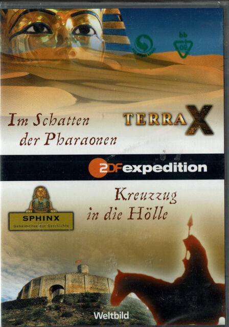 Terra X: Im Schatten der Pharaonen & Sphinx: Kreuzzug in die Hölle