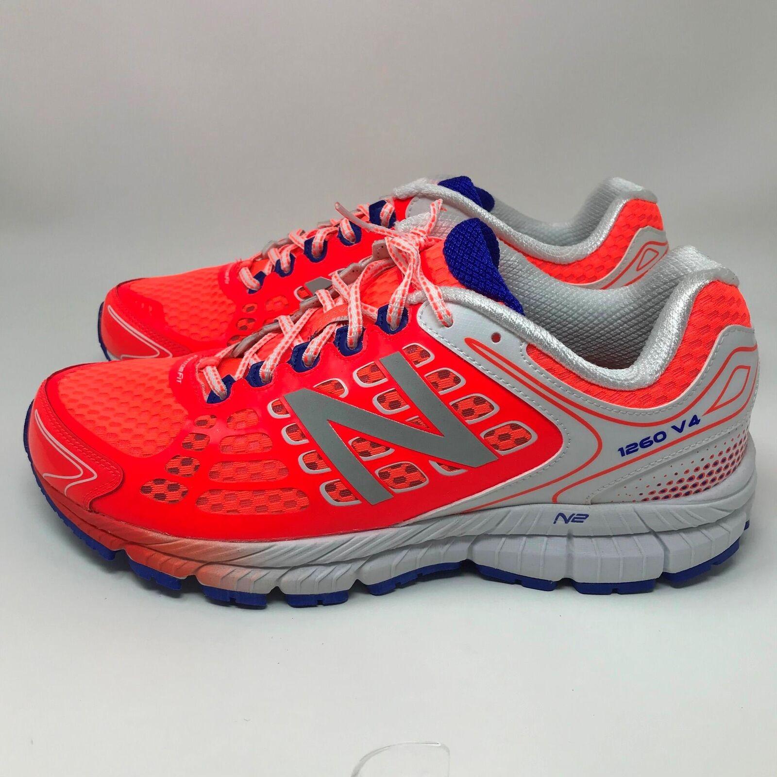 New Balance 1260v4 Neon Orange Running Training Shoes Women's Size: 12 (D)