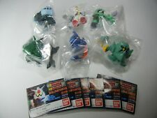 """Gashapon SD Gundam Full Color Stage 9 """"Complete Lot of 6 Set""""  Figure BANDAI"""
