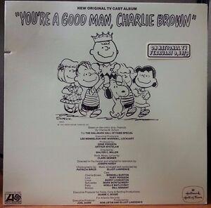 New-Original-TV-Cast-Album-You-039-re-A-Good-Man-Charlie-Brown-Vinyl-LP-Record-Promo