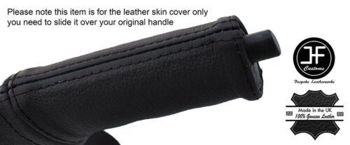 Black stitch urgence e frein poignée couverture en cuir pour dodge viper 03-06