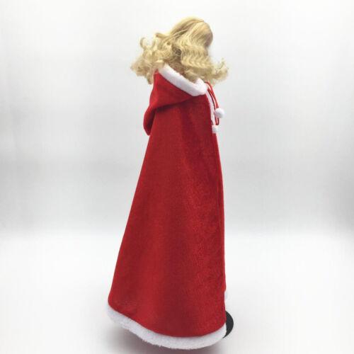 1//6 Christmas Costume Cloak Cape for 12/'/' Action Figure Hot Toys   Accs