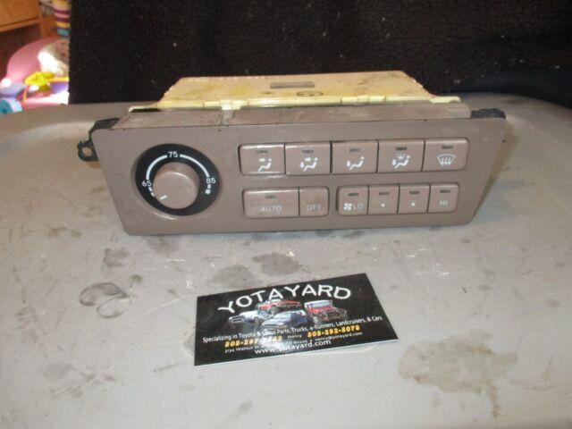 95-97 TOYOTA AVALON XLS AC AMPLIFIER MODULE 8865041010 computer relay