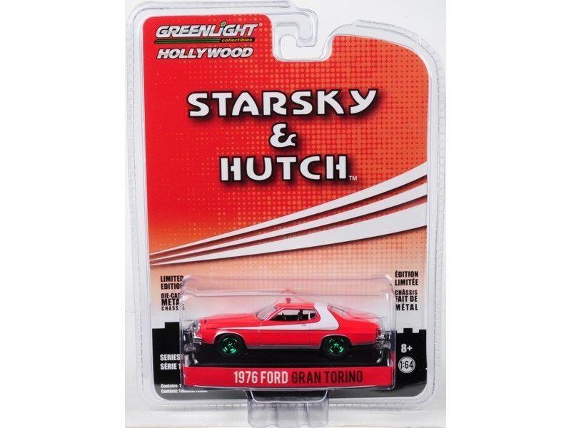 Grünlight - ford gran torino 1976 starsky und hutch 44780a 1   64 chase