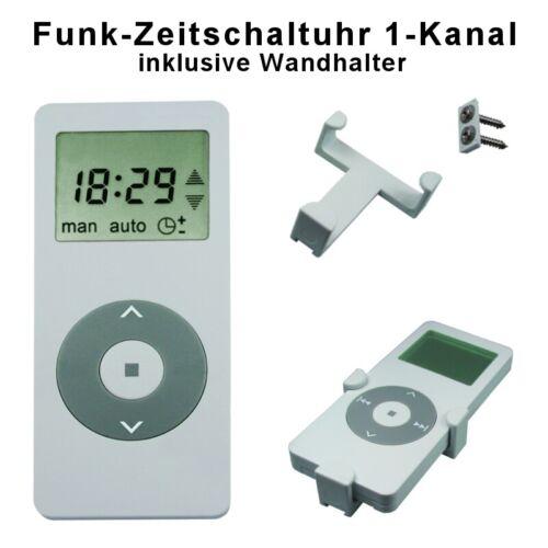 Radio émetteur timer télécommandes télécommande F funkmotor volet roulant moteur rohrmotor