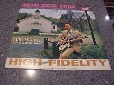 """Joe Maphis """"Golden Gospel Guitar"""" STARDAY LP #SLP-322 AUTOGRAPHED!!!"""