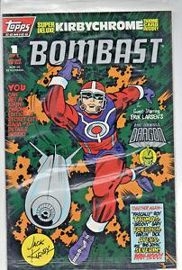 1st Print Topps Comics Bombast #1 Vf Comics