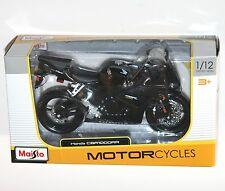 Maisto-Honda CBR1000RR (Negro) Moto Modelo Escala 1:12