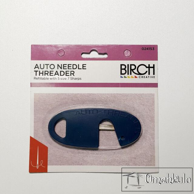 BIRCH - Auto Needle Threader - For Hand and Machine Needles -*