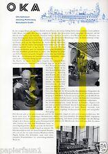 OKA Besteckfabrik Altensteig XL Reklame 1956 Kaltenbach Besteck cutlery ad