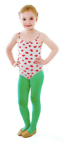 Green Tights Girls Fancy Dress Christmas Elf Xmas Childs Costume Accessory New