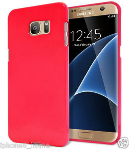 the best attitude a2a7b 01579 Details about Genuine MERCURY Goospery Hot Pink Soft Jelly Case Cover For  Galaxy S6 & S6 Edge