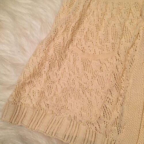 Medium M Of Cardigan North Sleeve The Størrelse Anthropologie Angel Short Crochet FzqwAnv