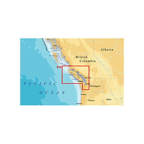 Navionics MSD/913PP Platinum Plus Vancouver Island Marine Map f/ Lowrance  Models
