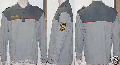 Cooperativa Löffler Transtex Originale Gendarmeria Uomo Polo Camicia Manica Lunga 58-mostra Il Titolo Originale