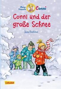 Conni-Erzählbände 16: Conni und der große Schnee (farbig illustriert) von Julia - Bad Königshofen, Deutschland - Conni-Erzählbände 16: Conni und der große Schnee (farbig illustriert) von Julia - Bad Königshofen, Deutschland
