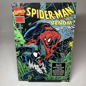 Marvel Comics Spider-Man vs Venom TPB by Michelinei McFarlane 1st Print in 1990