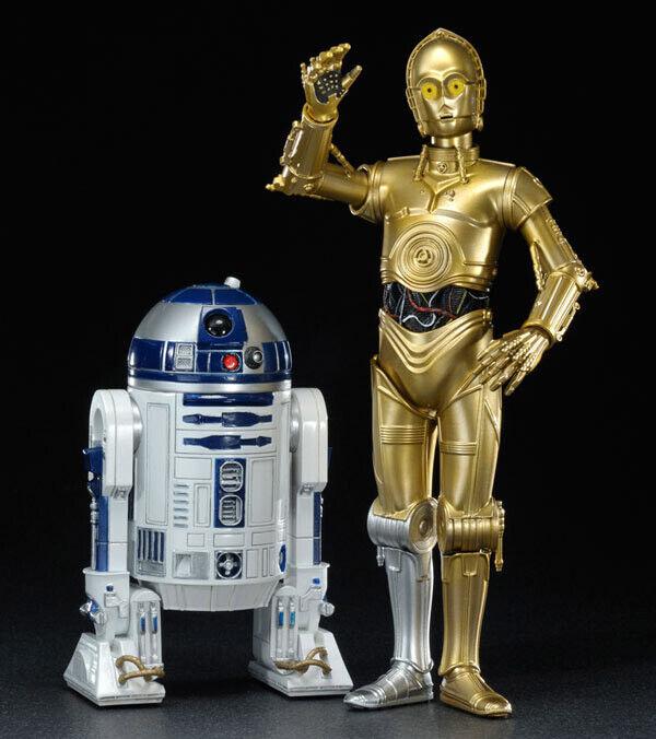ARTFX+ C-3PO & R2-D2 Estrella Wars 1 10 2-Pack STATUE Figura KOTOBUKIYA