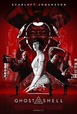 Ghost in the Shell Movie Poster (24x36) - Scarlett Johansson, Michael Wincott v4