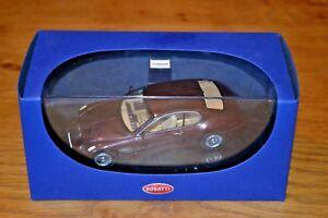 Autoart 1/43 Bugatti Eb118 Genf 2000 Rouge foncé métallisé;   Près de Monnaie 674110509229