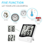 Lanhiem-Indoor-Digital-Thermometer-Hygrometer-Accurate-Room-Temperature-Gauge thumbnail 3
